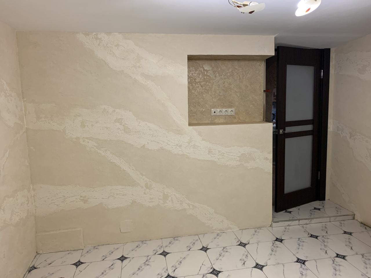 Комната отдыха, Новороссийск - Rivedil DecorFondo+Travertino(fino)+HydroFinish Opaco R