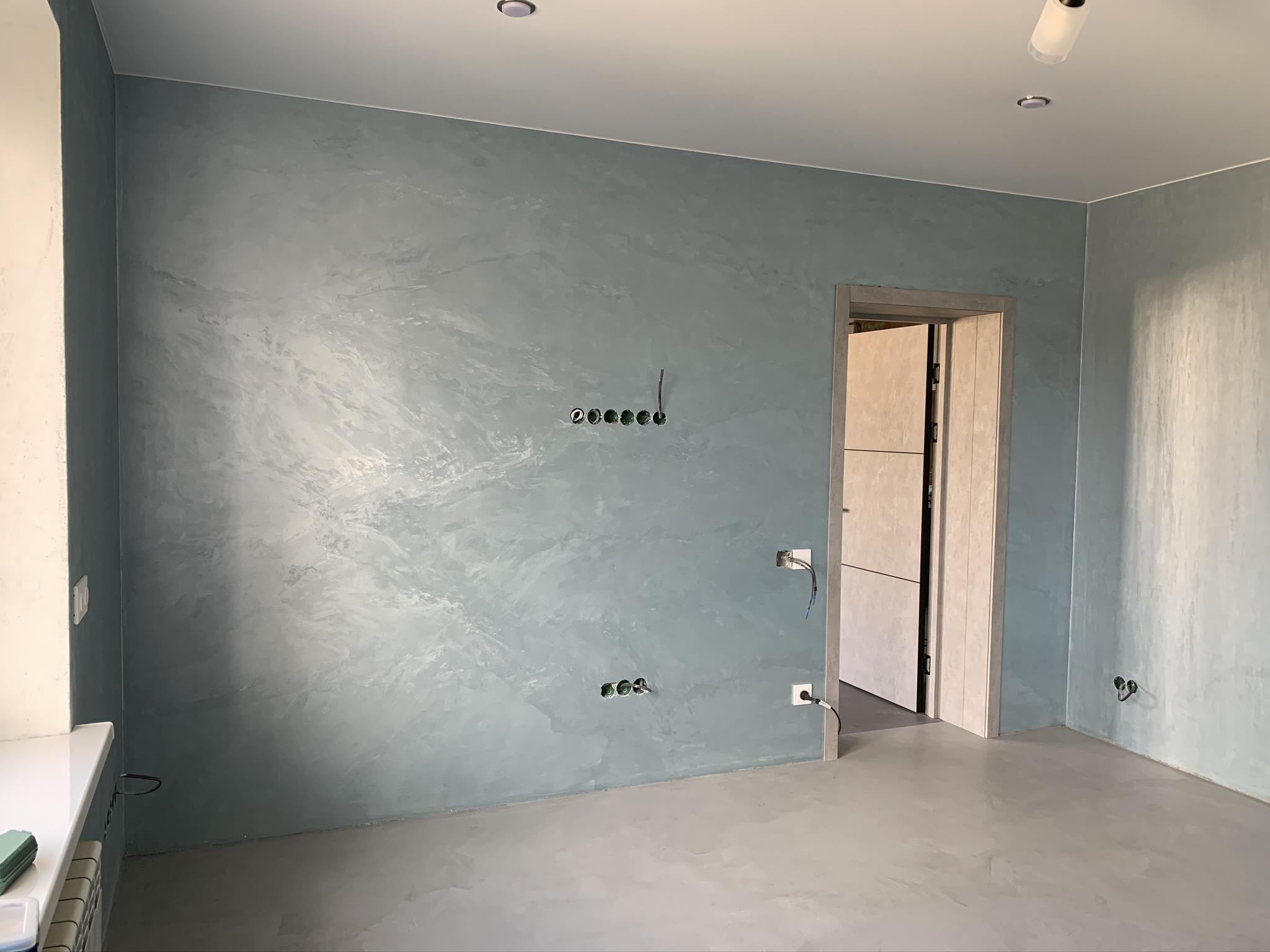 Проект 02/2021, квартира Новороссийск. Спальня 1 -  Rivedil DecorFondo + Persia